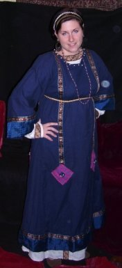 My first Byzantine outfit!