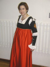 My black and red Italian Ren, long gone now, along with that waistline.
