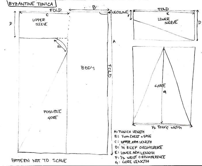 how to make a roman tunic