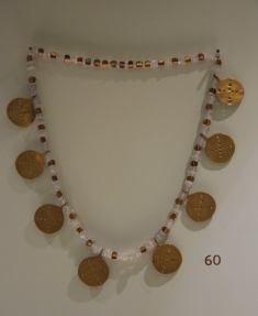 Gold and Chalcedony Hattian Necklace from the Museum of Anatolian Civilizations